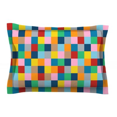 Color Blocks Zoom by Project M Featherweight Pillow Sham