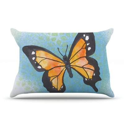 Summer Flutter by Padgett Mason Cotton Pillow Sham