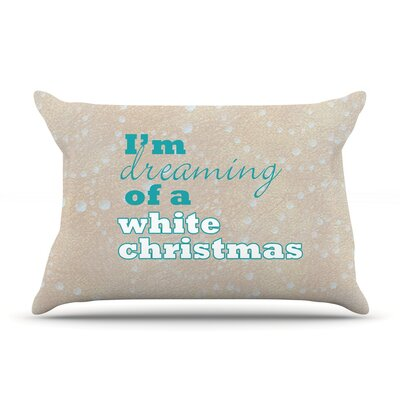Christmas by Sylvia Cook Cotton Pillow Sham