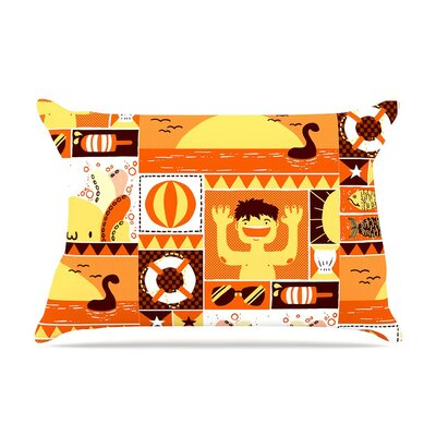 Summer Seasonal by Tobe Fonseca Cotton Pillow Sham