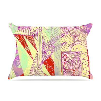 Bunny Land by Marianna Tankelevich Cotton Pillow Sham
