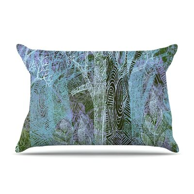 Wild Forest by Marianna Tankelevich Trees Featherweight Pillow Sham