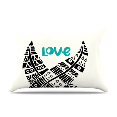 United Love Tribal by Pom Graphic Design Cotton Pillow Sham