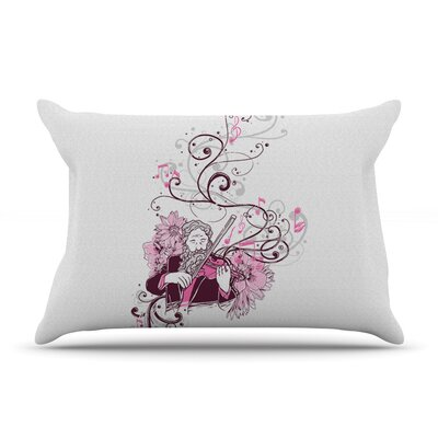 Violinist by Tobe Fonseca Cotton Pillow Sham
