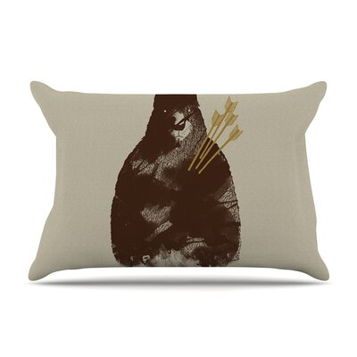 In Love by Tobe Fonseca Bear Cotton Pillow Sham
