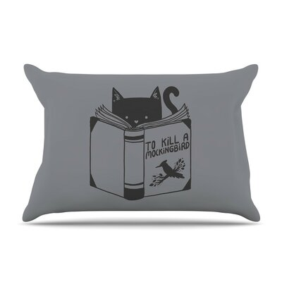 To Kill A Mockingbird by Tobe Fonseca Cat Cotton Pillow Sham