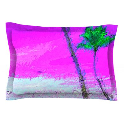 Caribe S by Oriana Cordero Cotton Pillow Sham