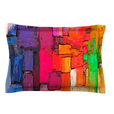 Interlace by Oriana Cordero Cotton Pillow Sham