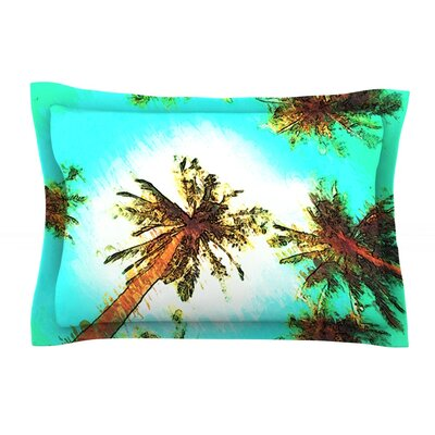 Paradise by Oriana Cordero Trees Cotton Pillow Sham