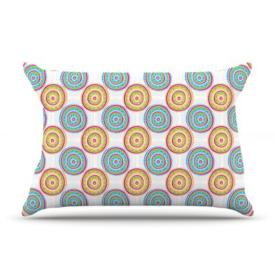 Bombay Dreams by Apple Kaur Designs Featherweight Pillow Sham, Green