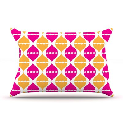 Moroccan Dreams by Apple Kaur Designs Featherweight Pillow Sham, Orange
