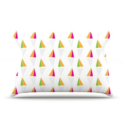 Triangles by Apple Kaur Designs Featherweight Pillow Sham,