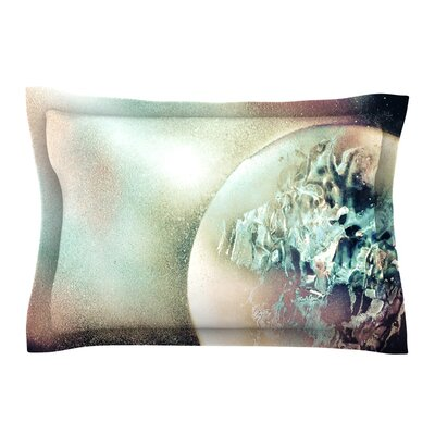 Space Dust by Infinite Spray Art Space Planet Cotton Pillow Sham