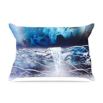 Surreal Falls by Infinite Spray Art Planet Cotton Pillow Sham