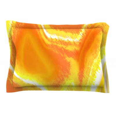 Sahara by Oriana Cordero Yellow Featherweight Pillow Sham
