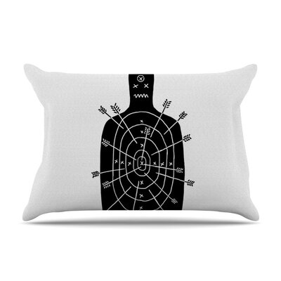 Arch Arrow by BarmalisiRTB Target Featherweight Pillow Sham