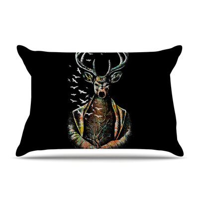 There Is No Place by BarmalisiRTB Deer Featherweight Pillow Sham