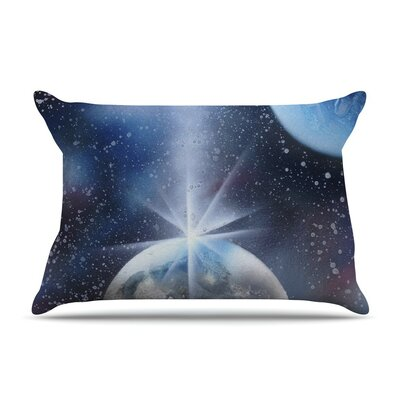 Intergalactic by Infinite Spray Art Painting Cotton Pillow Sham