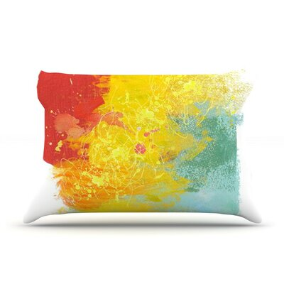 Medley by Oriana Cordero Colorful Paint Featherweight Pillow Sham