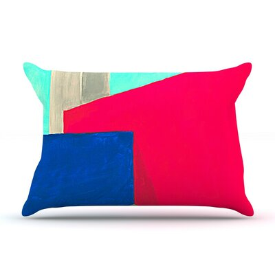 Corner by Oriana Cordero Geometry Featherweight Pillow Sham