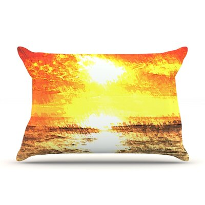 Riviera by Oriana Cordero Yellow Featherweight Pillow Sham