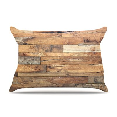 Campfire Wood by Susan Sanders Featherweight Pillow Sham