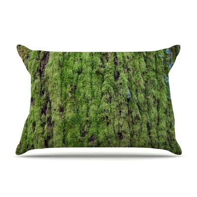Emerald Moss by Susan Sanders Nature Cotton Pillow Sham