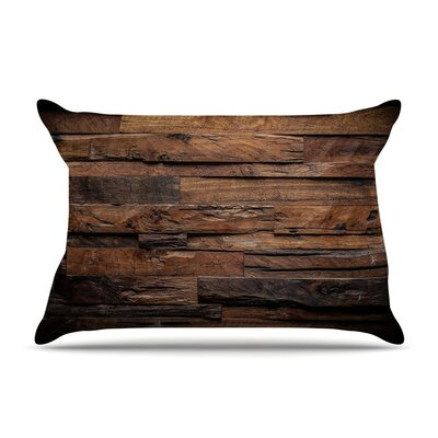 Espresso Dreams Wood by Susan Sanders Cotton Pillow Sham