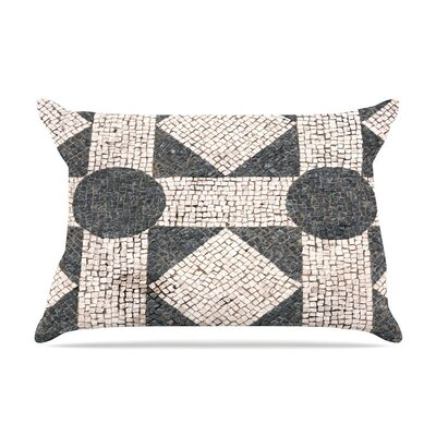 Mosaic by Susan Sanders Beige Featherweight Pillow Sham