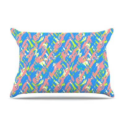 Abstract Print Blue by Nandita Singh Featherweight Pillow Sham