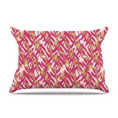 Abstract Print by Nandita Singh Cotton Pillow Sham