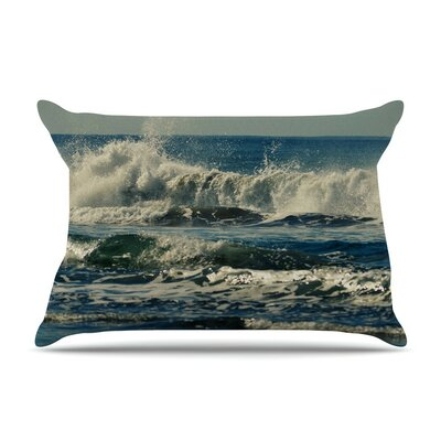Forever Young Coastal by Robin Dickinson Cotton Pillow Sham