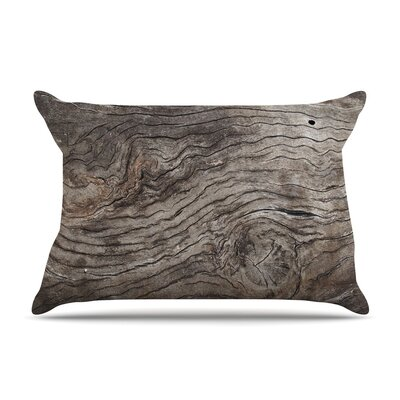 Tree Bark by Susan Sanders Wooden Featherweight Pillow Sham