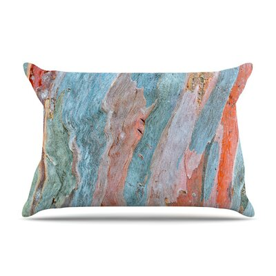 Beach Dreams by Susan Sanders Blue Featherweight Pillow Sham