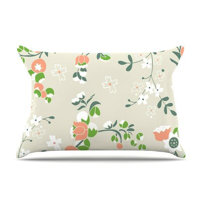 Early Waking Floral by Very Sarie Cotton Pillow Sham
