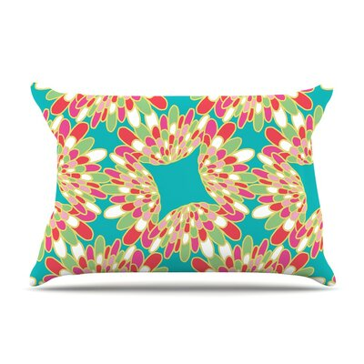 Wings by Miranda Mol Green Featherweight Pillow Sham