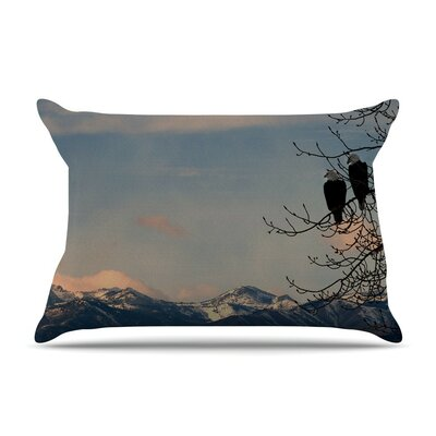 Majesty Nature Landscape by Robin Dickinson Cotton Pillow Sham