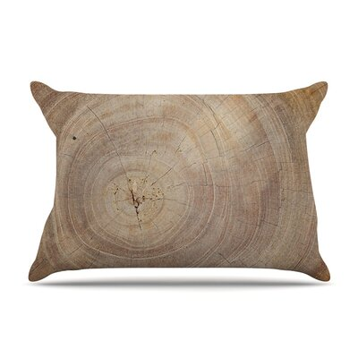 Aging Tree by Susan Sanders Wooden Featherweight Pillow Sham