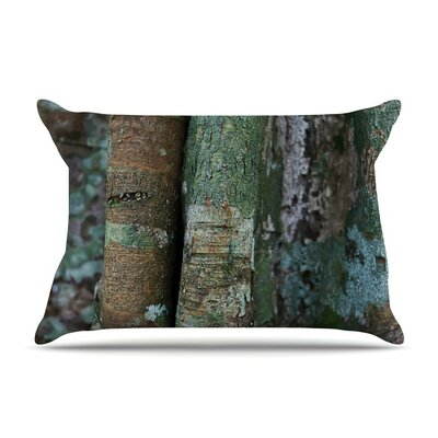 Into the Woods by Susan Sanders Rustic Featherweight Pillow Sham