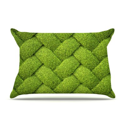 Ivy Basket by Susan Sanders Weave Featherweight Pillow Sham