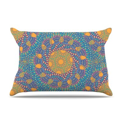 Prismatic by Miranda Mol Blue Abstract Featherweight Pillow Sham