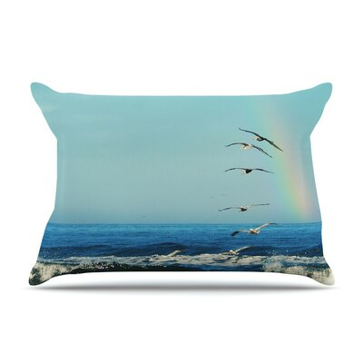 Ill Follow by Robin Dickinson Coastal Featherweight Pillow Sham