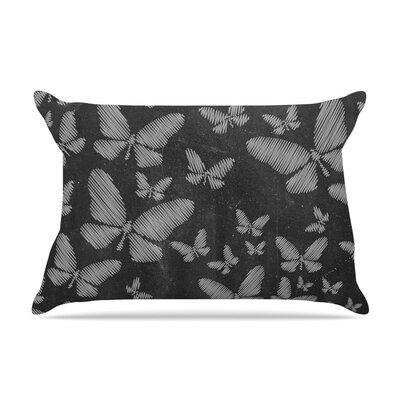 Butterflies III by Snap Studio Chalk Featherweight Pillow Sham