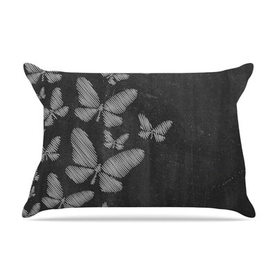 Butterflies IV by Snap Studio Chalk Featherweight Pillow Sham