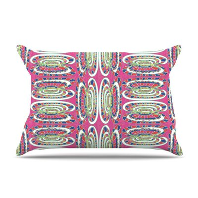 Bohemian Wild by Miranda Mol Abstract Featherweight Pillow Sham