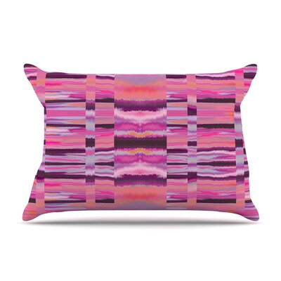 Samanna Coral Tribal by Nina May Cotton Pillow Sham