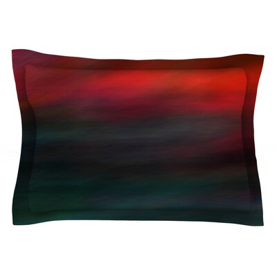 Haunted by Robin Dickinson Cotton Pillow Sham