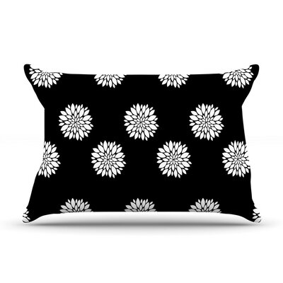 Peony Rose White by Suzanne Carter Cotton Pillow Sham