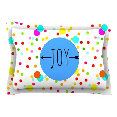 Oh Joy Rainbow by Sreetama Ray Cotton Pillow Sham