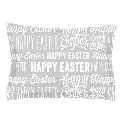 Happy Easter Cotton Pillow Sham